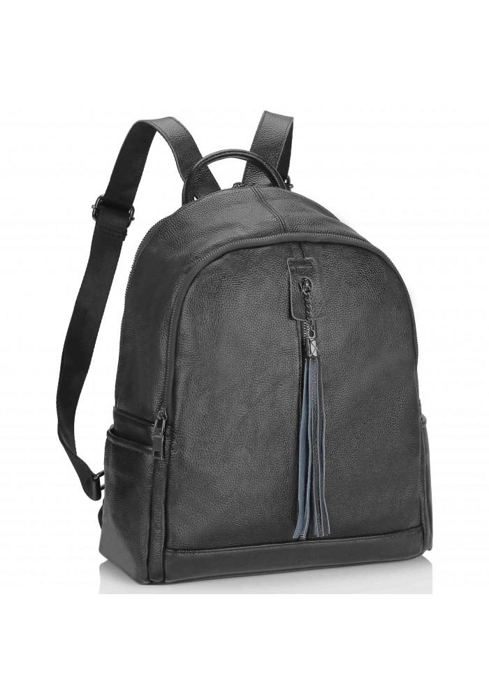 Фото Женский рюкзак черный Olivia Leather NWBP27-6627A