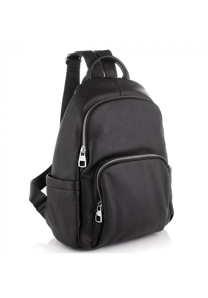 Фото Женский кожаный черный рюкзак Olivia Leather NWBP27-001A