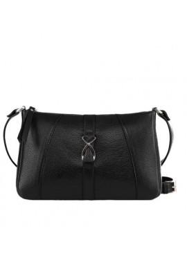 Фото Модная женская кожаная сумка-клатч ACTIVE ISSA HARA черная