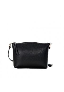 Фото Брендовая женская кожаная сумка-клатч ACTIVE ISSA HARA черная