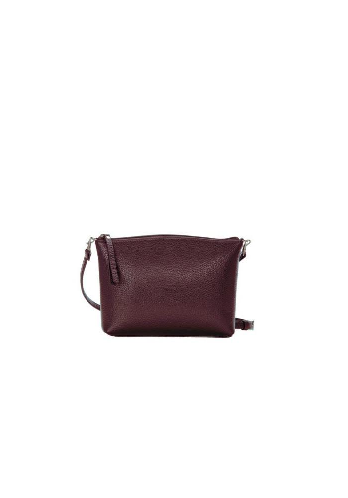 Брендовая женская кожаная сумка-клатч ACTIVE ISSA HARA коричневая