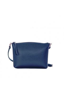 Фото Брендовая женская кожаная сумка-клатч ACTIVE ISSA HARA синяя