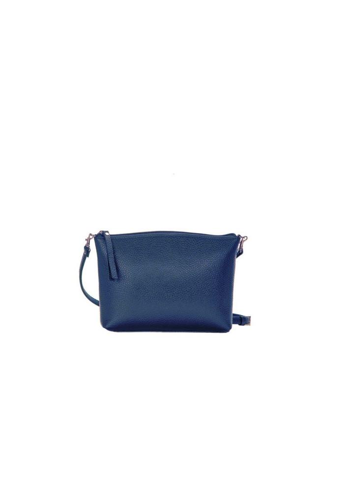 Брендовая женская кожаная сумка-клатч ACTIVE ISSA HARA синяя