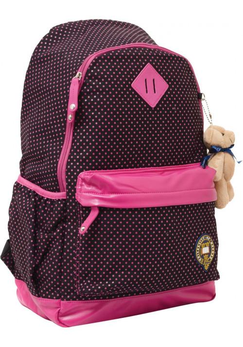 """Рюкзак """"Oxford"""" X067 черно-розовый"""