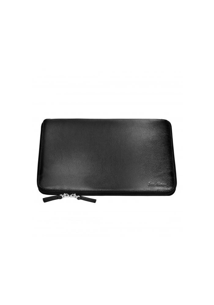 Стильная папка для ноутбука MacBook 13″ ISSA HARA черная