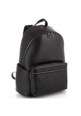 Фото Мужской кожаный рюкзак с плетением Tiding Bag B3-8608A
