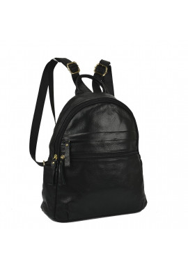 Фото Женский кожаный рюкзак черного цвета NM20-W775A