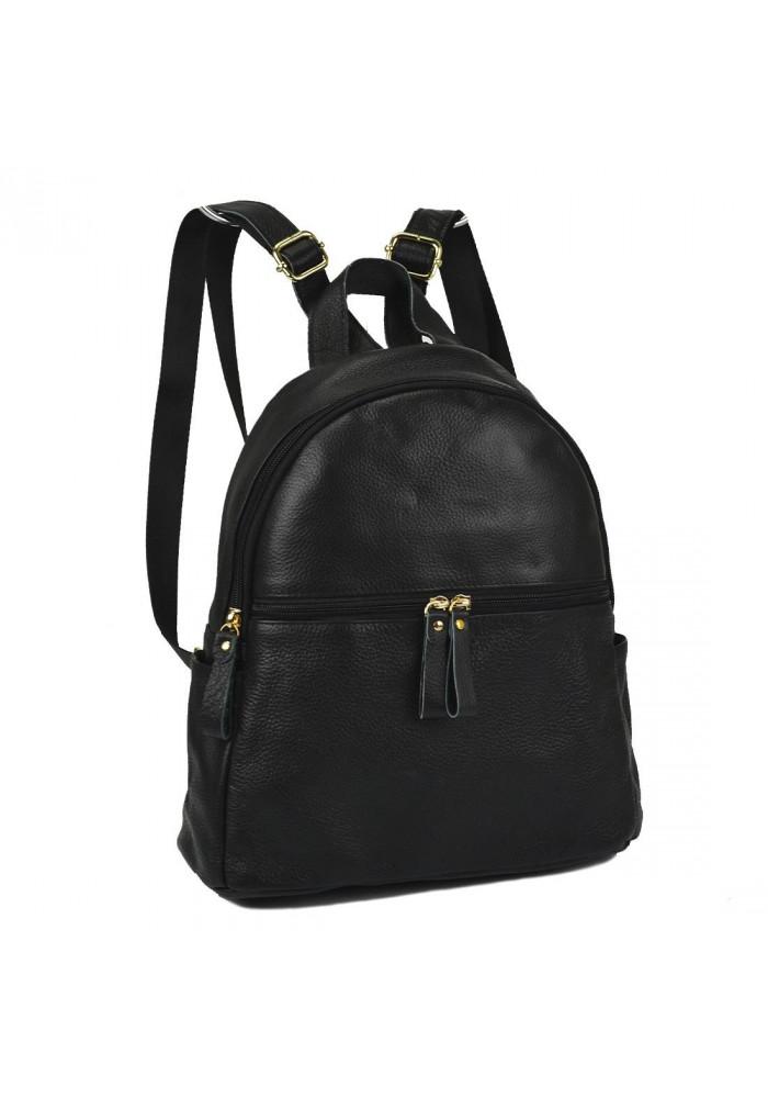Фото Женский кожаный рюкзак черного цвета NM20-W008A