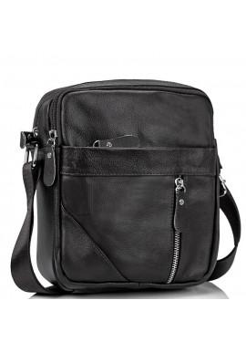 Фото Мужская черная сумка через плечо Tiding Bag M38-1031A