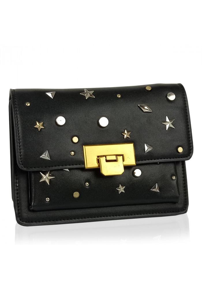 Фото Женская элегантная черная сумка W16-808A