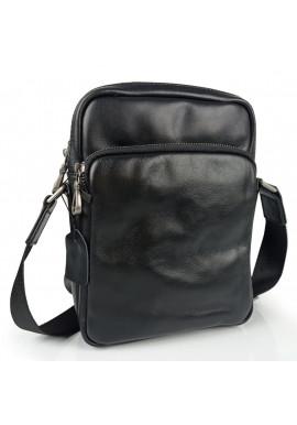 Фото Сумка мужская кожаная черная Tiding Bag 168A