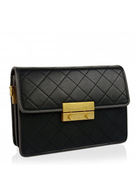 Фото Женская маленькая черная сумка W16-160A