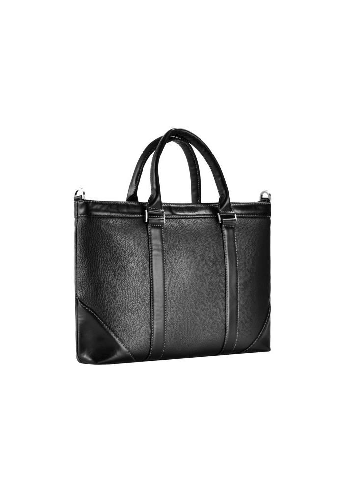 Красивая мужская сумка ISSA HARA черная
