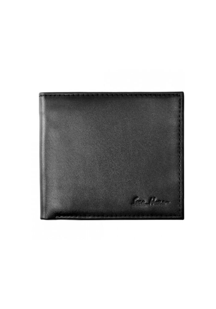 Фото Мужской кошелек брендовый ISSA HARA черный