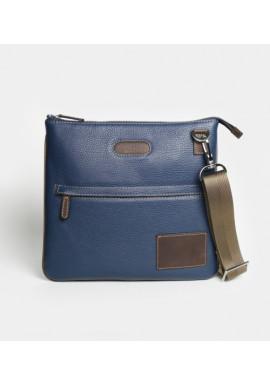 Фото Мужская сумка на плечо ISSA HARA синяя