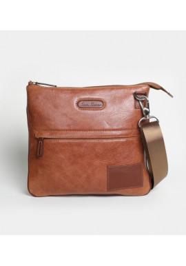 Фото Мужская сумка на плечо ISSA HARA рыжая