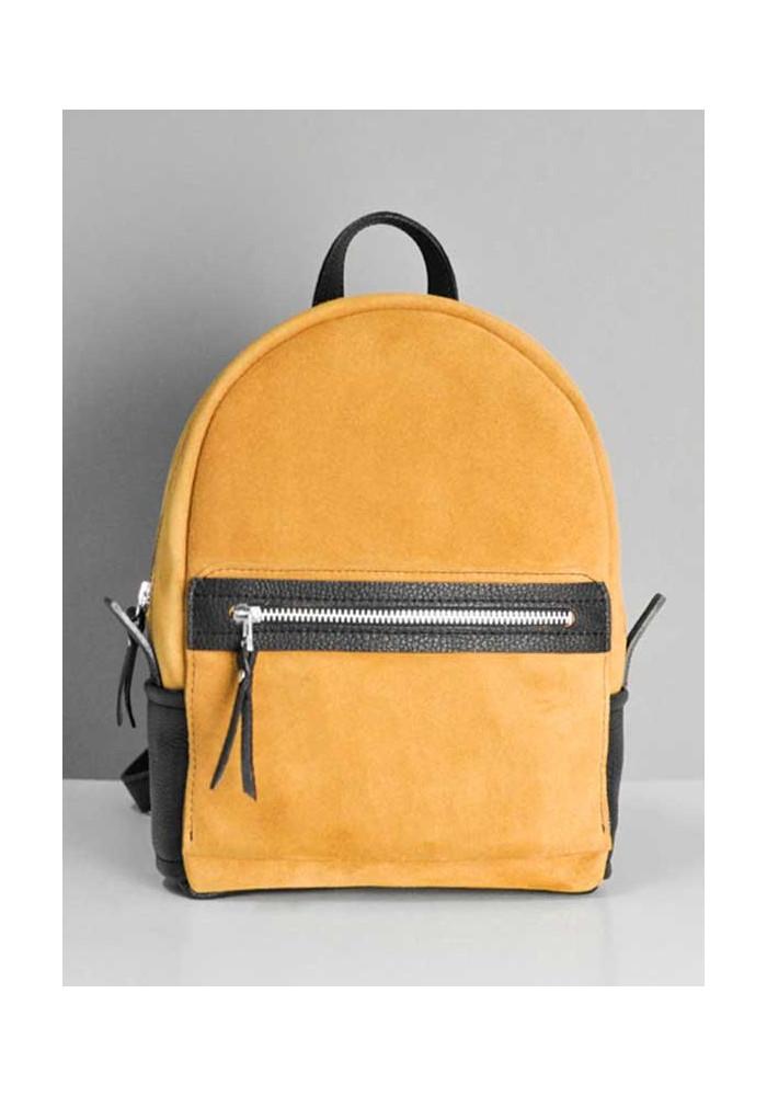 Фото Замшевый рюкзак женский Sport Caramel
