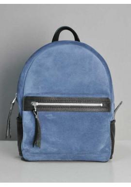 Фото Замшевый рюкзак женский Sport Blue