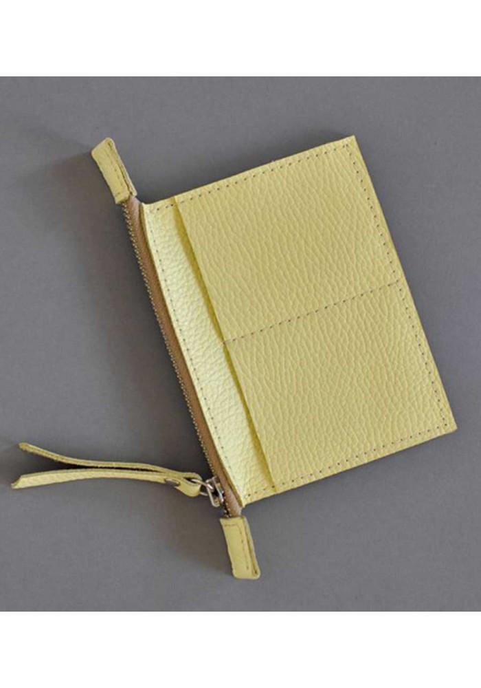 Фирменный кошелек женский Keeper Yellow