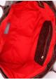 Кожаная сумка для женщины Poolparty Desire Croco Brown, фото №3 - интернет магазин stunner.com.ua
