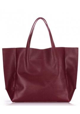 Фото Кожаная модная женская сумка Poolparty Soho Marsala