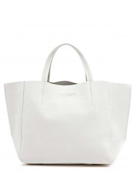 Фото Кожаная модная женская сумка Poolparty Soho White