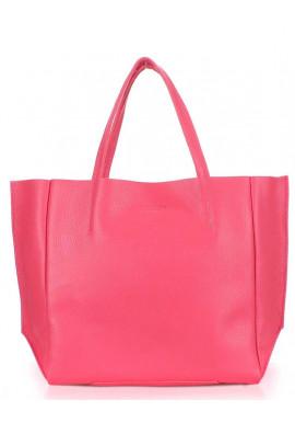 Фото Женская сумка кожа Poolparty Soho Pink