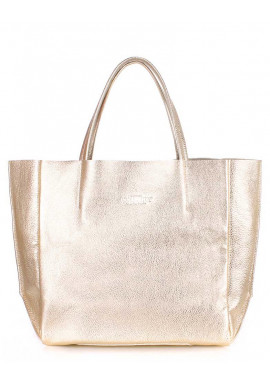 Фото Женская сумка кожа Poolparty Soho Gold