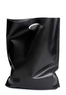 Фото Стильная кожаная сумка Poolparty Shopper Black