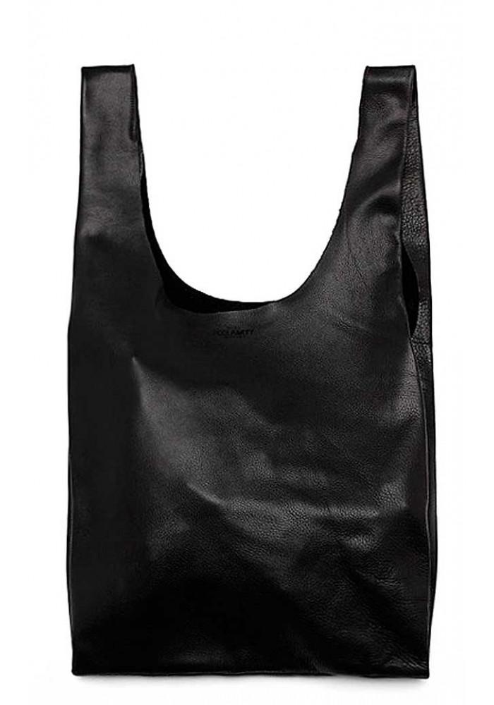 Стильная кожаная сумка Poolparty Leather Tote
