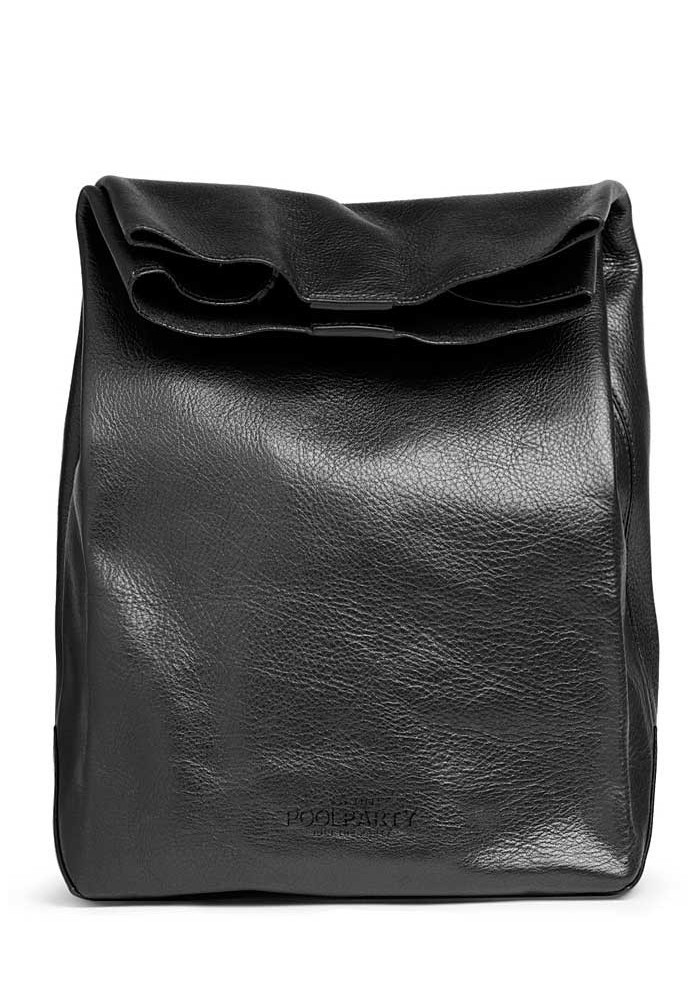 Сумка клатч женская Poolparty Leather Lunchbox