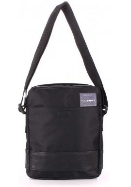 Фото Мужская сумка на плечо Poolparty Oxford Black