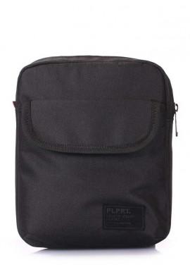 Фото Мужская сумка на плечо Poolparty Extreme Oxford Black