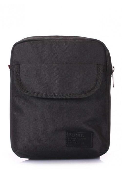 Мужская сумка на плечо Poolparty Extreme Oxford Black