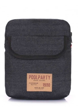 Фото Мужская сумка на плечо Poolparty Extreme Denim