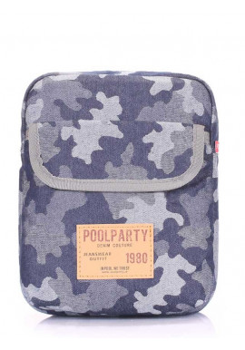 Фото Мужская сумка на плечо Poolparty Extreme Camouflage