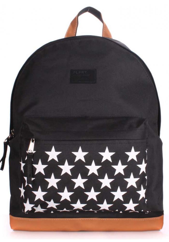 Женский рюкзак Poolparty Backpack Stars Black