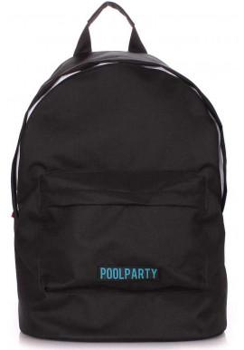 Фото Женский рюкзак Poolparty Eco Backpack Black
