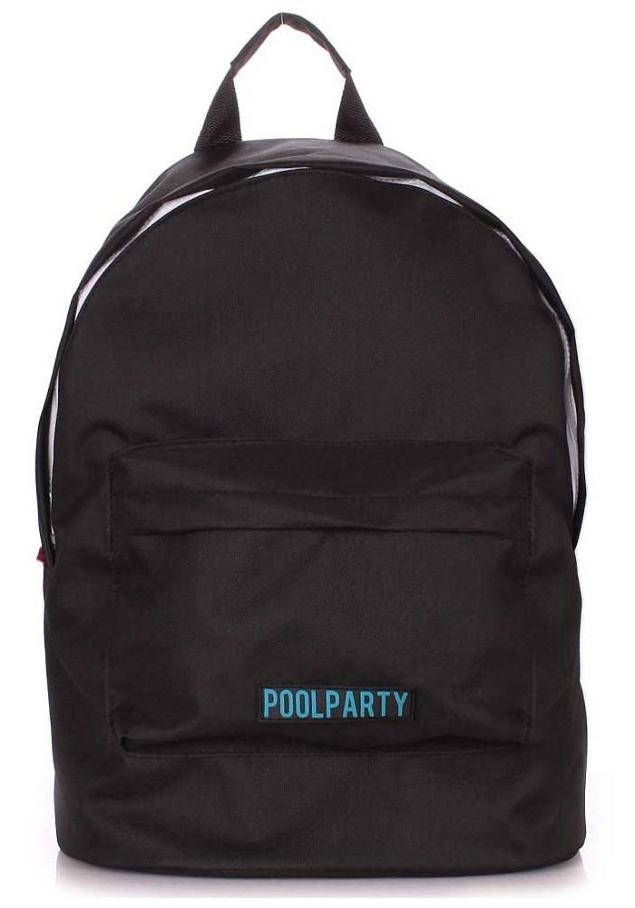 Женский рюкзак Poolparty Eco Backpack Black