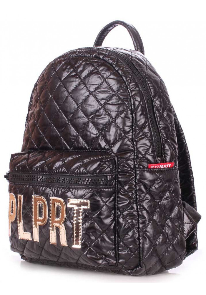 Женский рюкзак Poolparty Plprt Bckpck Stitch Black