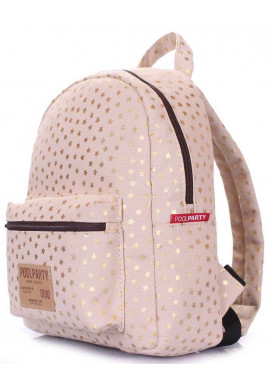 Фото Летний женский рюкзак Poolparty XS Bckpck Golden Stars