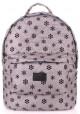 Женский рюкзак Poolparty Backpack Snowflakes Grey
