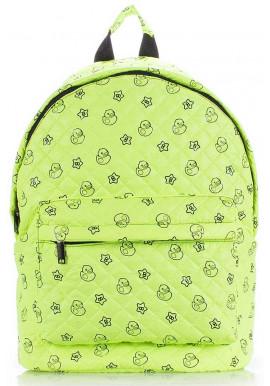 Фото Женский рюкзак с уточками Poolparty Backpack Theon Ssalad Ducks