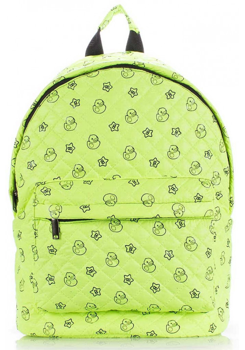 Женский рюкзак с уточками Poolparty Backpack Theon Ssalad Ducks