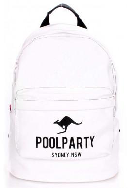 Фото Молодежный рюкзак Poolparty Backpack Kangaroo White
