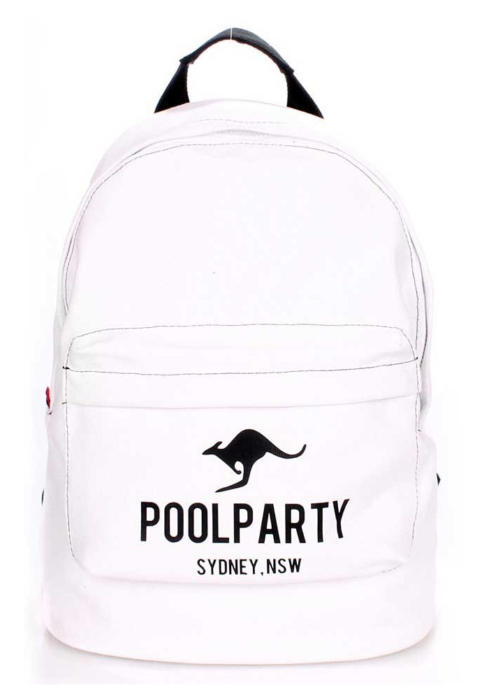 Молодежный рюкзак Poolparty Backpack Kangaroo White