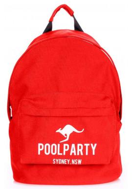 Фото Молодежный рюкзак Poolparty Backpack Kangaroo Red