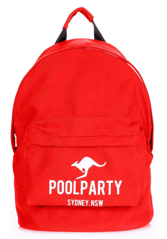 Молодежный рюкзак Poolparty Backpack Kangaroo Red