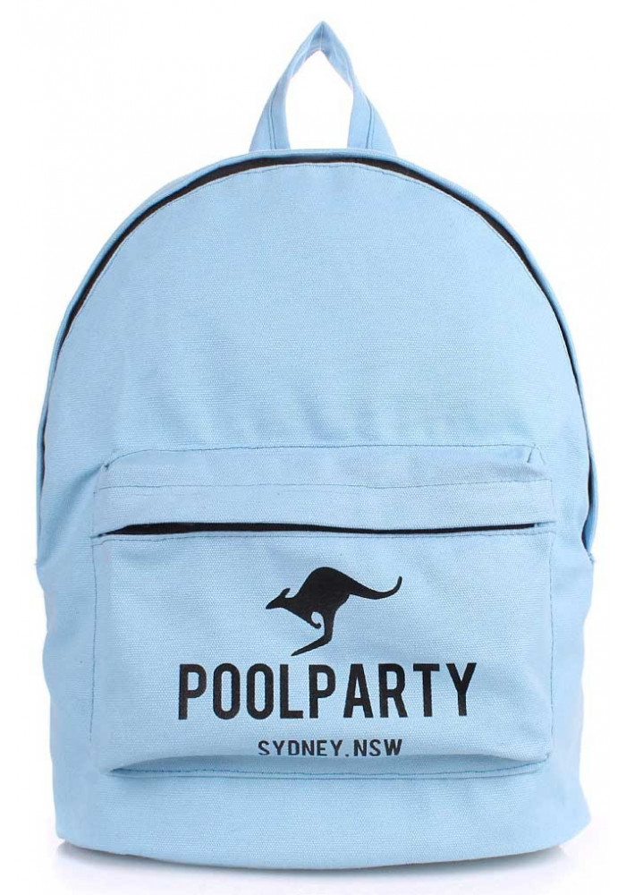 Молодежный рюкзак Poolparty Backpack Kangaroo Blue