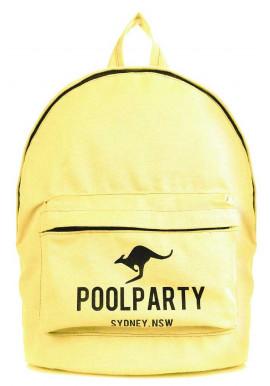 Фото Молодежный рюкзак Poolparty Backpack Kangaroo Yellow